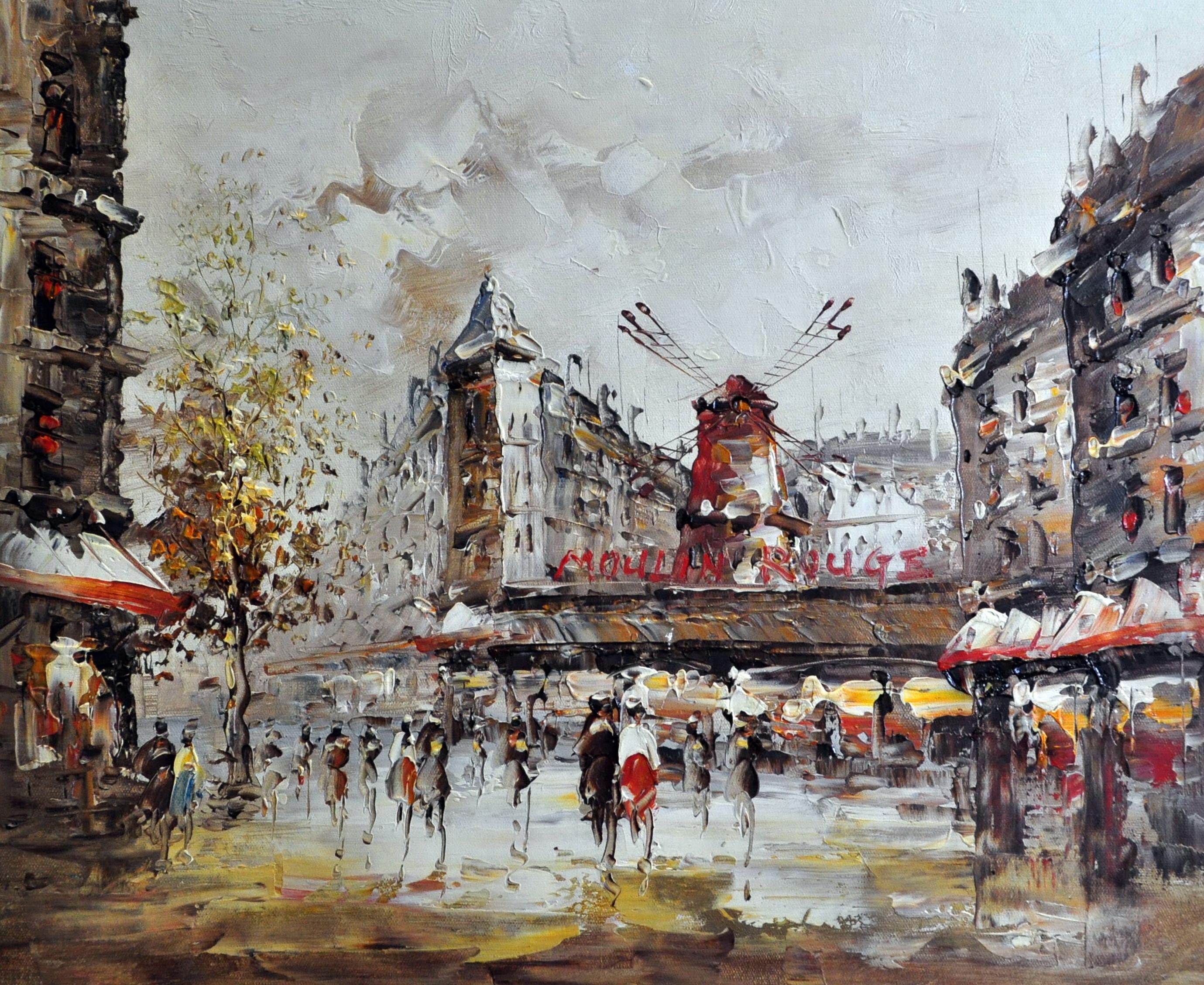 «Париж» картина  50х60 арт.5ГР159