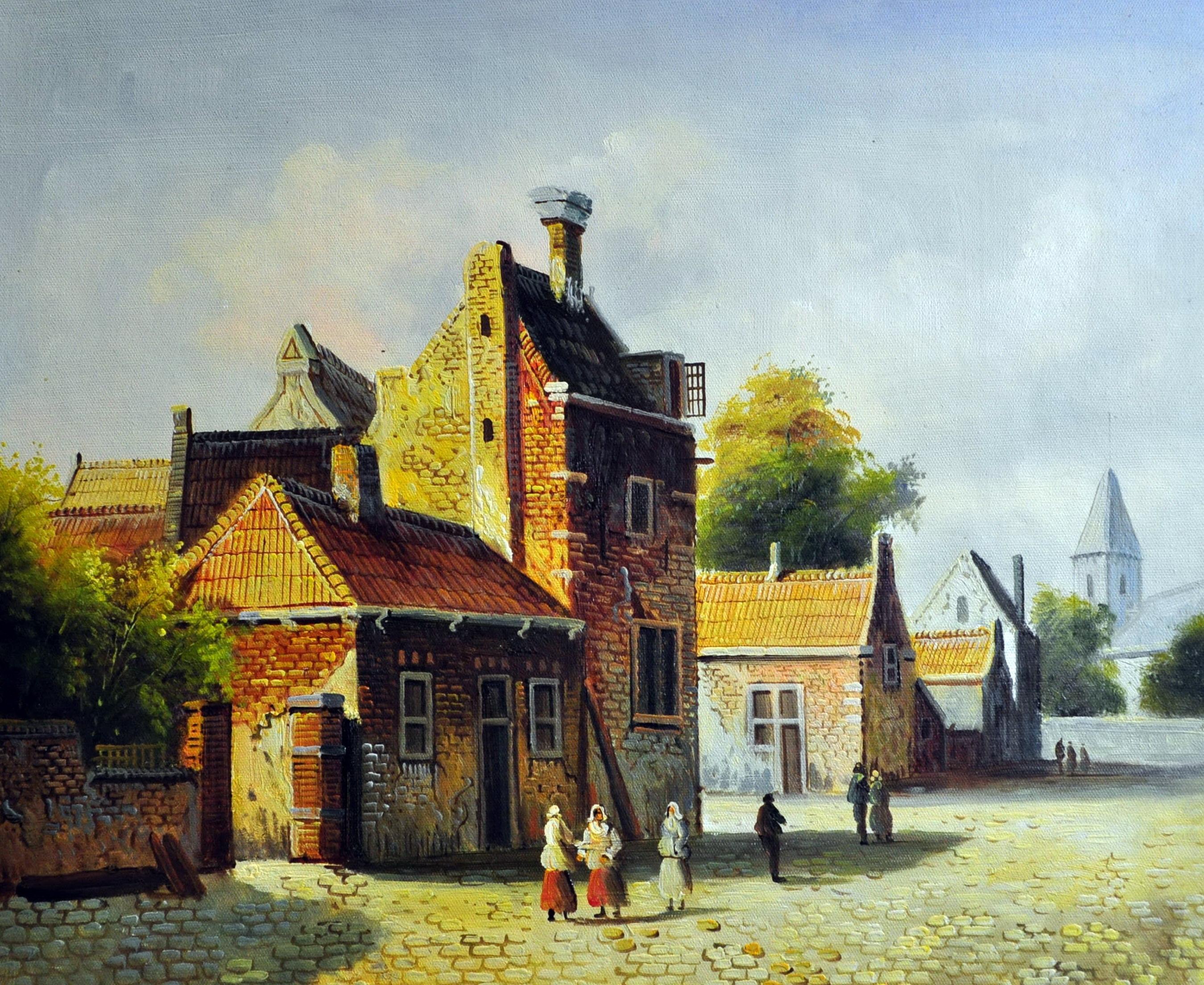 «Голландия 19 века» картина  50х60 арт.5ГР160