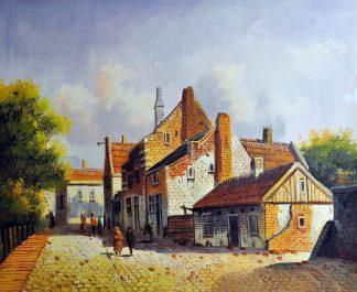«Голландия 19 века» картина  50х60 арт.5ГР161