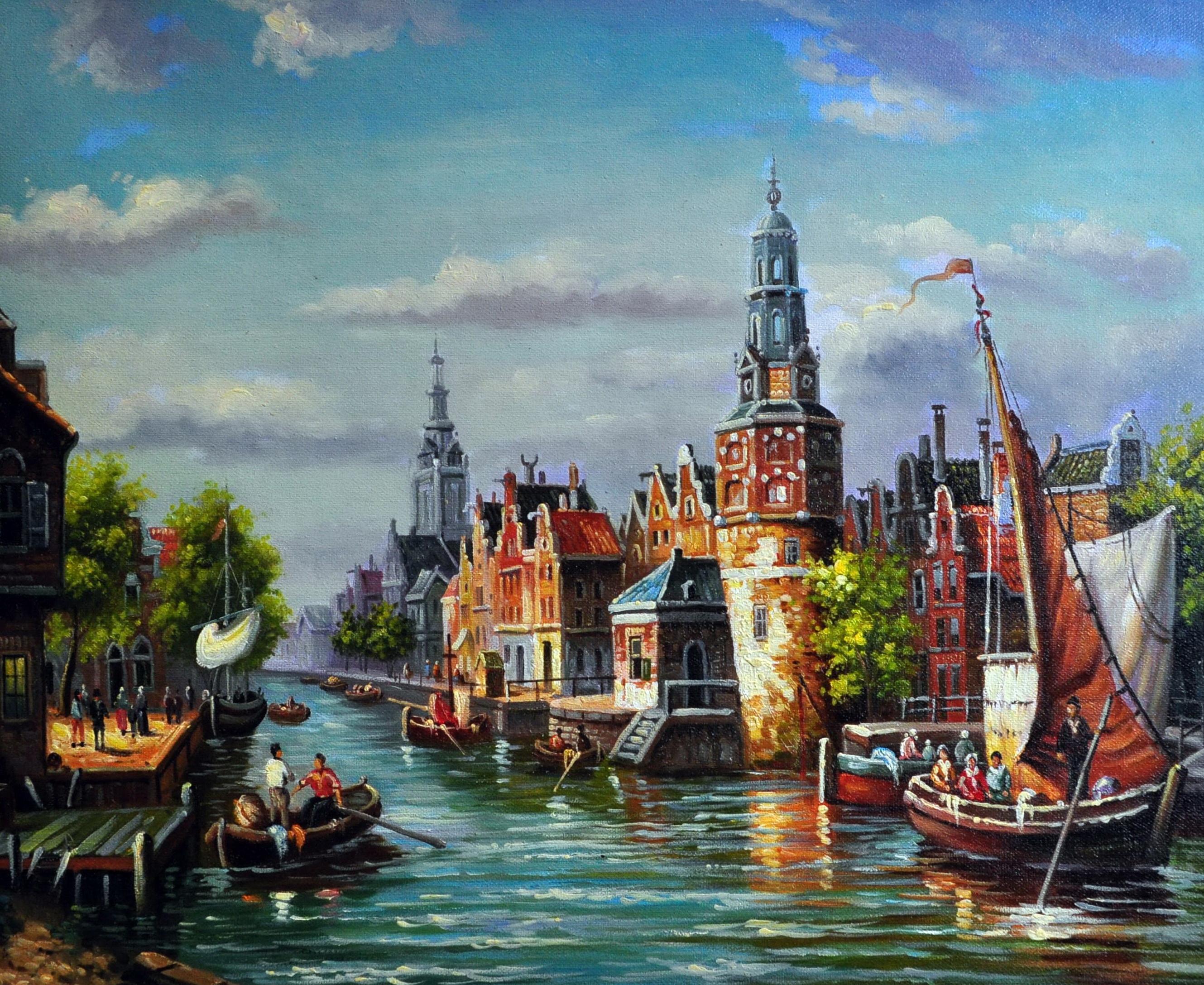 «Голландия» картина  50х60 арт.5ГР163