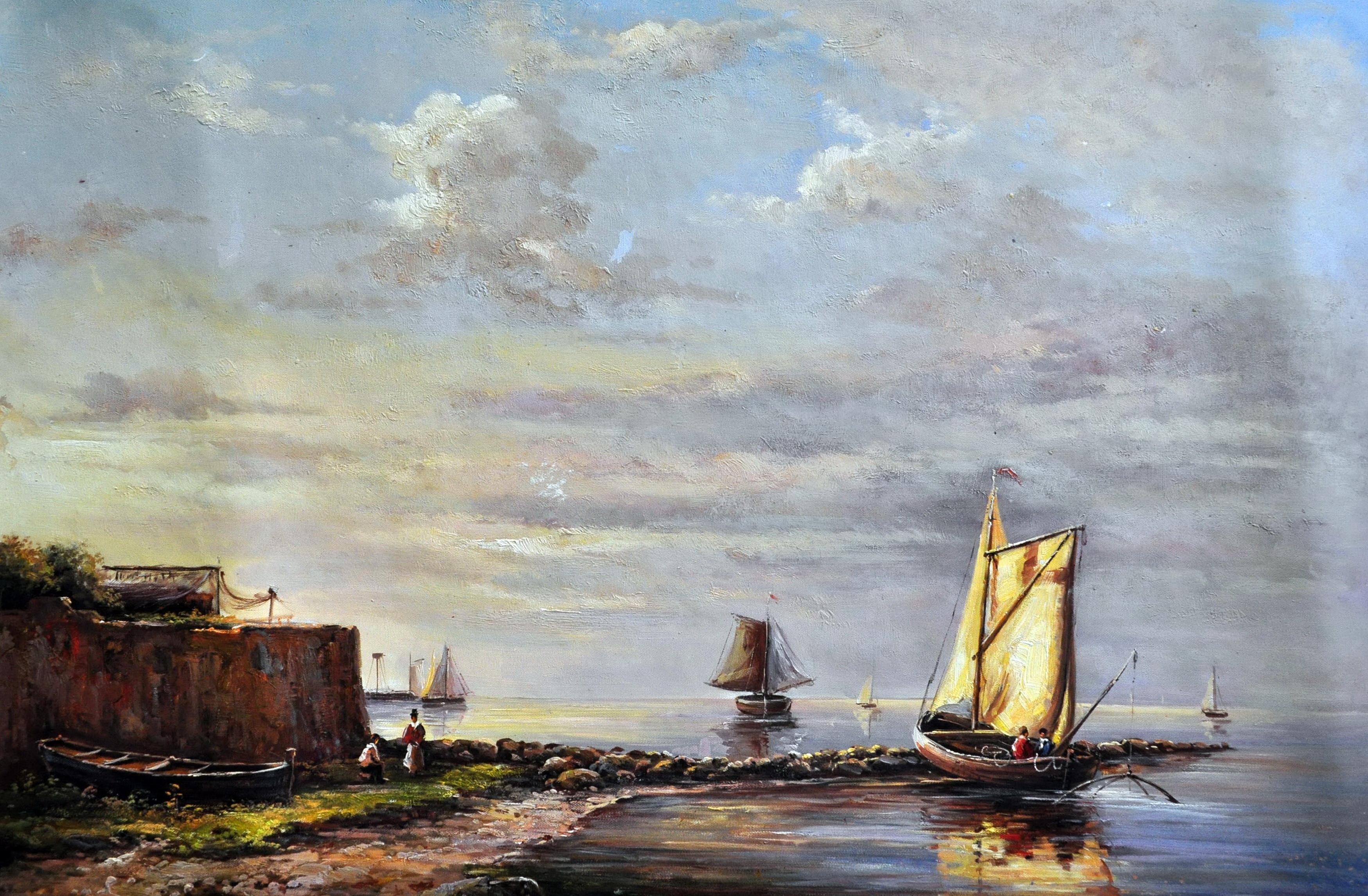 «Лодка» картина  60х90 арт.9Л041