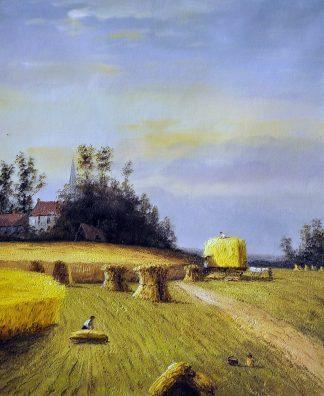 «Золотая нива» картина  50х60 арт.5П092