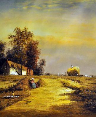 «Уборка урожая» картина  50х60 арт.5П093