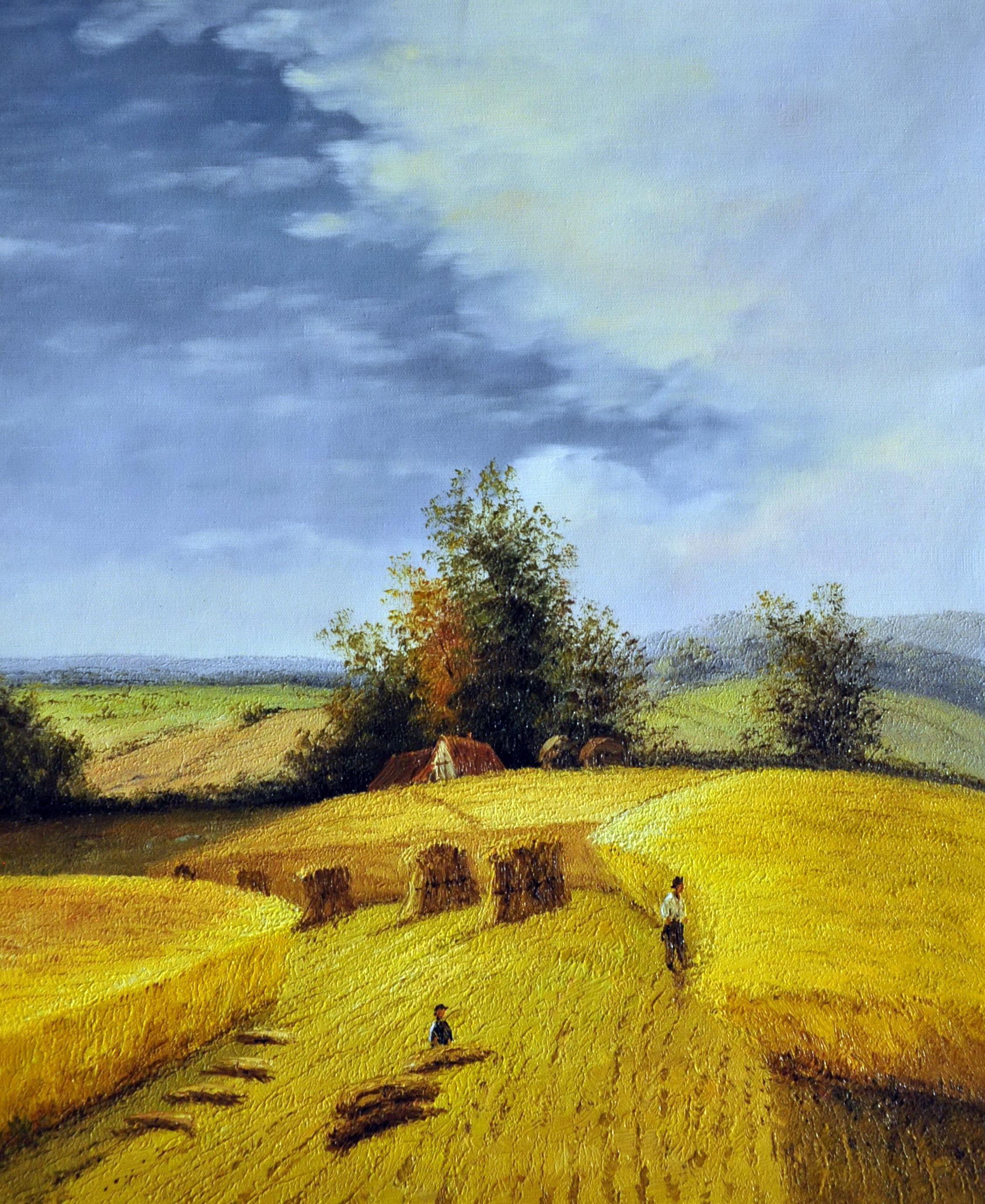 «Сельский пейзаж» картина  50х60 арт.5П094