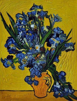 «Ирисы Ван Гога» картина  30х40 арт.3Р052
