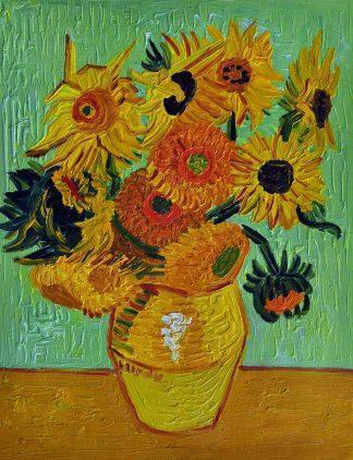 «Подсолнухи Ван Гога» картина  30х40 арт.3Р053
