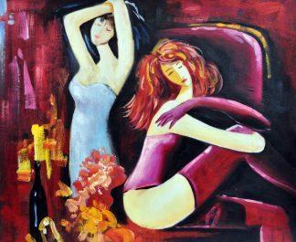 «Девушки» картина   50х60 арт.5Р071