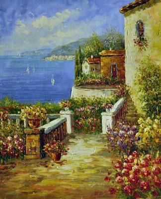 «Средиземноморье» картина  50х60 арт.5С082