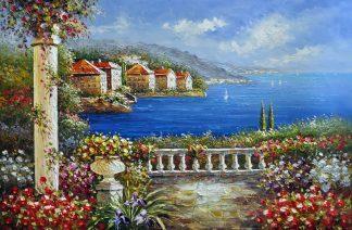 «Средиземноморье» картина  60х90 арт.9С052