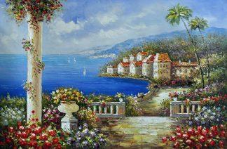 «Средиземноморье» картина  60х90 арт.9С053