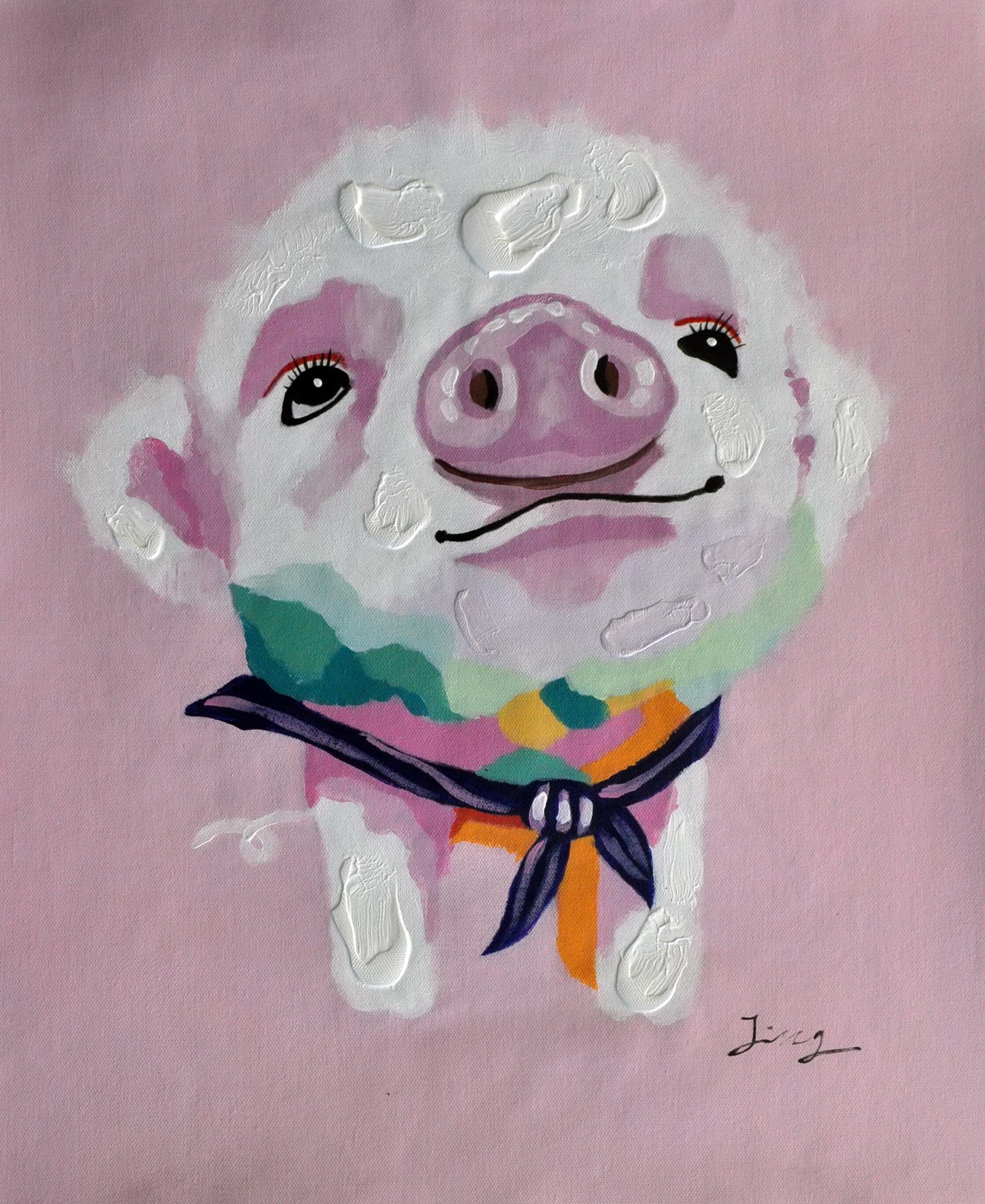 «Поросенок» картина  50х60 арт.5А054