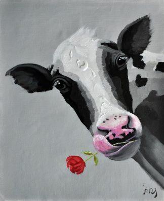 «Буренка» картина  50х60 арт.5А057