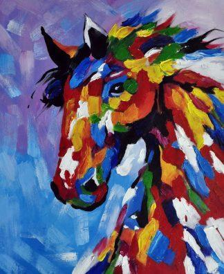 «Конь» картина  50х60 арт.5А059