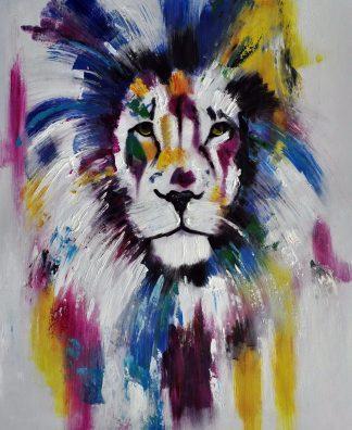 «Лев» картина  50х60 арт.5А060