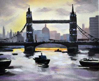 «Мост» картина  50х60 арт.5ГР172