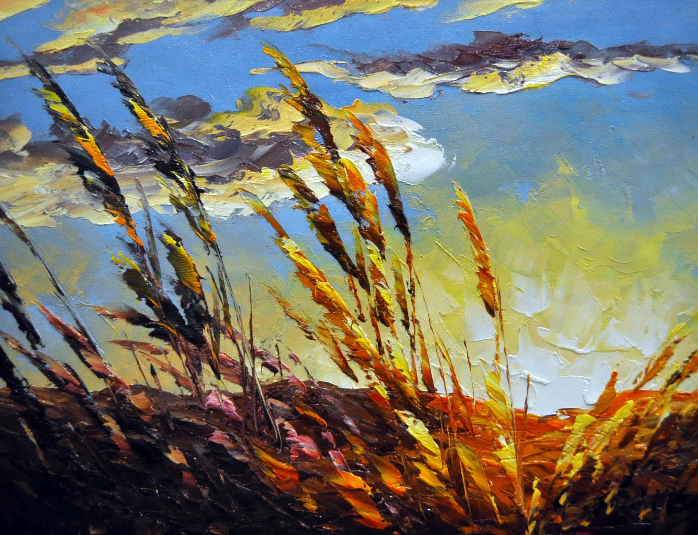 «На рассвете» картина  30х40 арт.3П040