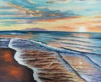 «Морской пейзаж» картина  50х60 арт.5П100