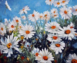 «Ромашки» картина  50х60 арт.5П103