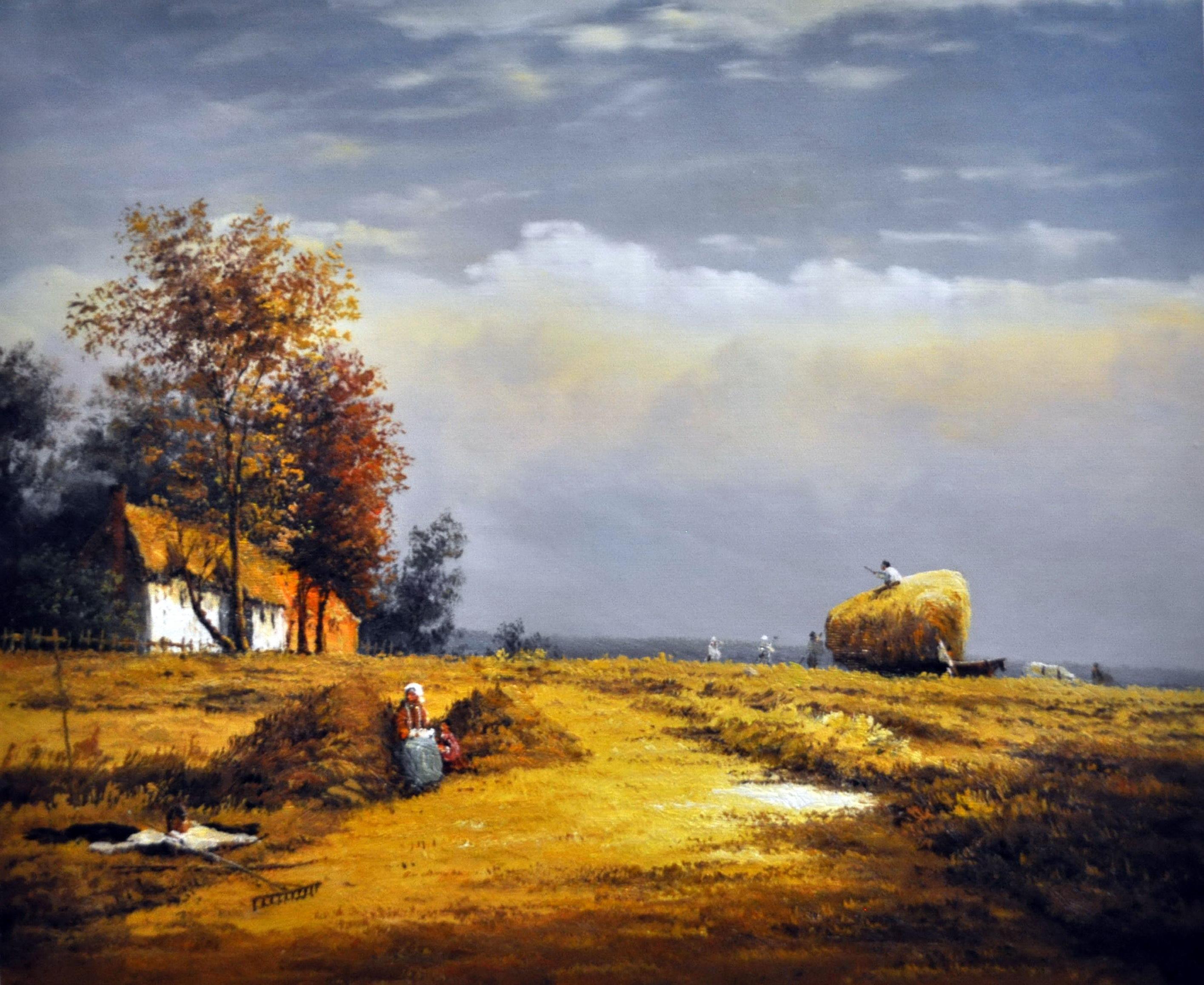 «Уборка урожая» картина  50х60 арт.5П116