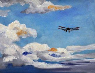 «В небе» картина  30х40 арт.3Р070