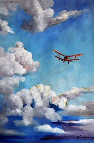 «Полёт» картина  60х90 арт.9Р041