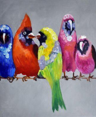 «Птицы» картина  50х60 арт.5А071