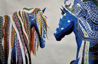 «Кони» картина  60х90 арт.9А030