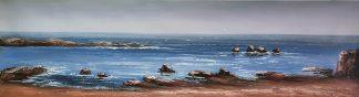«Морской пейзаж» картина  40смХ150см арт.Н1