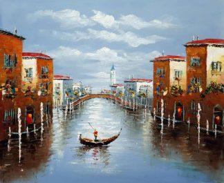 «Прогулка по Венеции» картина 50х60 арт. 5ГР210