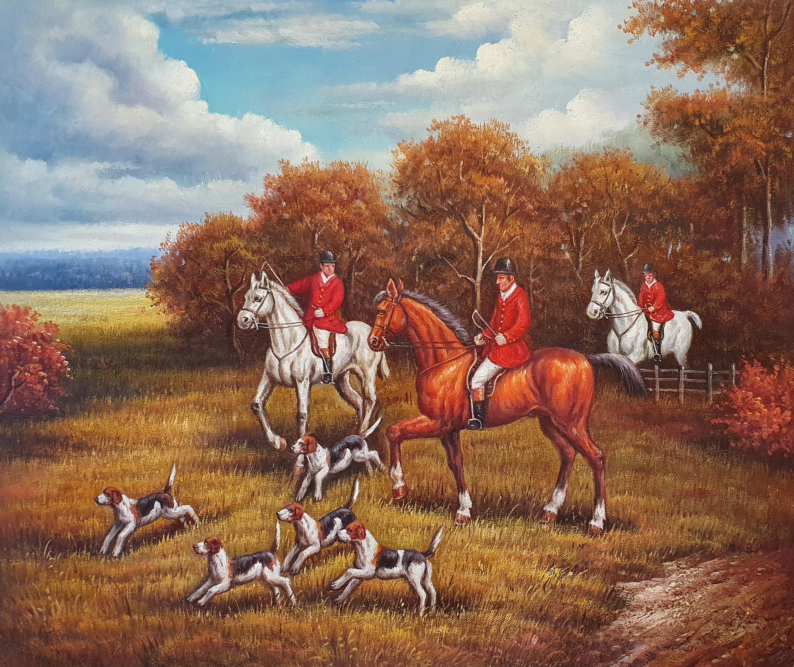 Натюрморт «Английская охота» картина 50х60 арт. 5р058