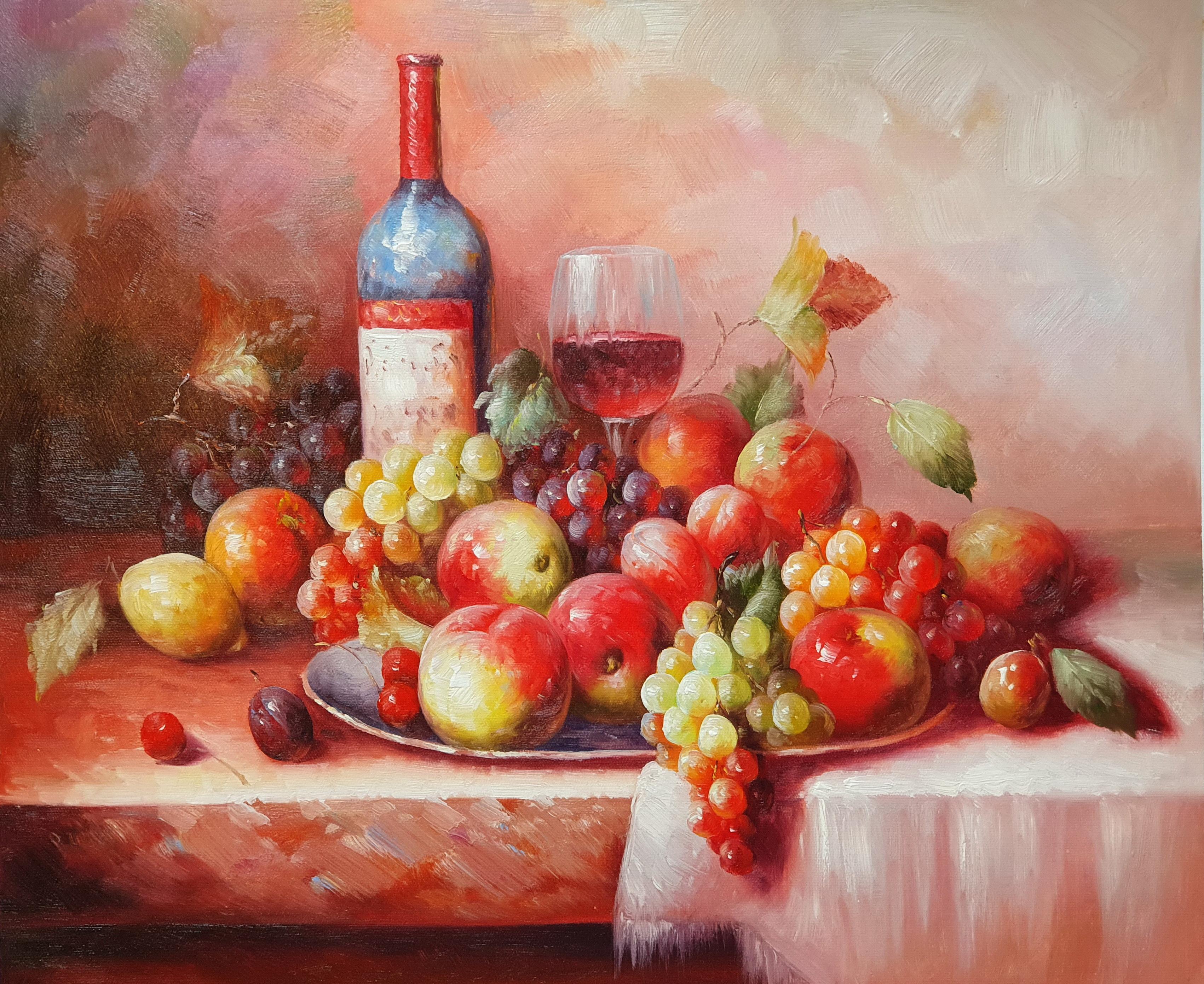 Натюрморт «Сладкое и терпкое» картина 50х60 арт. 5Ц193