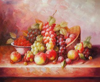Натюрморт «Дары лета» картина 50х60 арт. 5Ц195