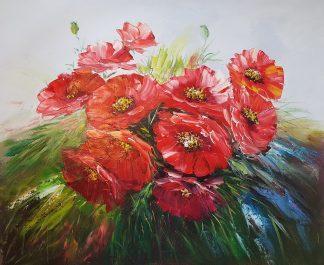«Маки» картина 50х60 арт. 5Ц199