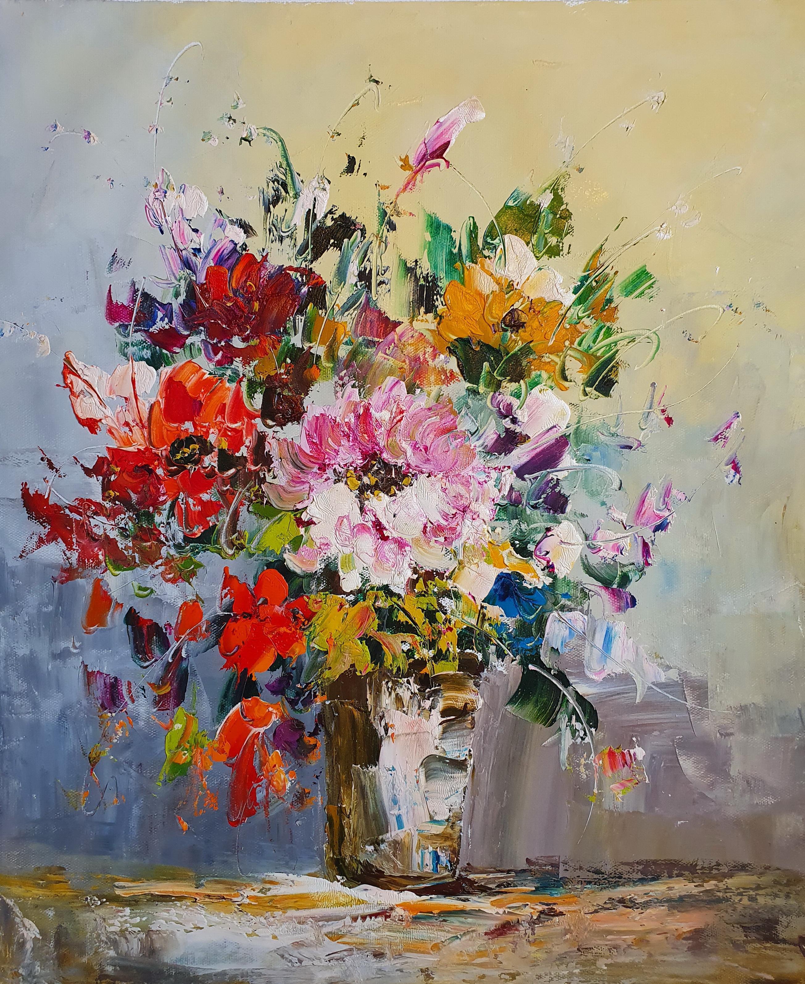 «Букет» картина 50х60 арт. 5Ц212