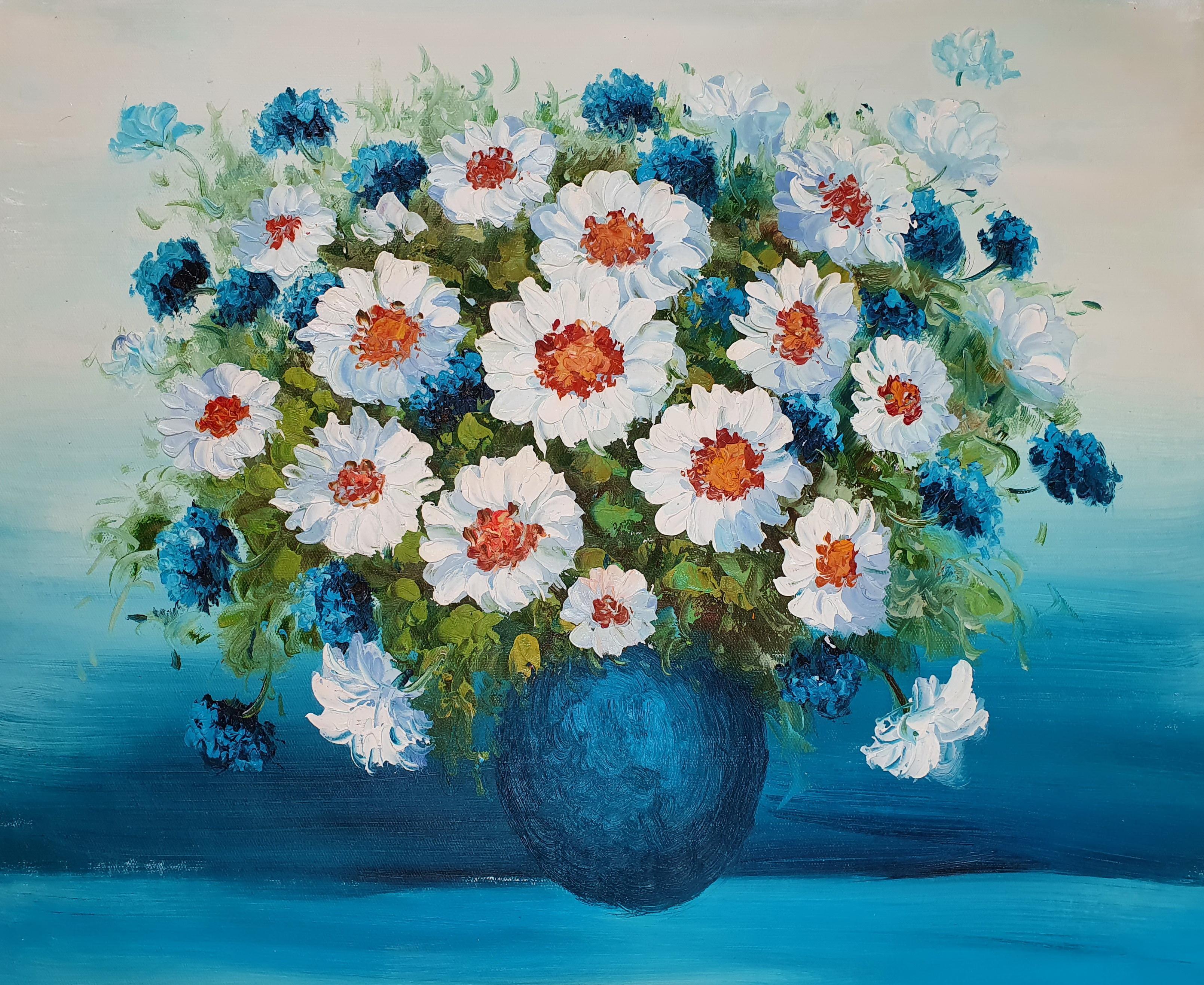 «Ромашки» картина 50х60 арт. 5Ц220