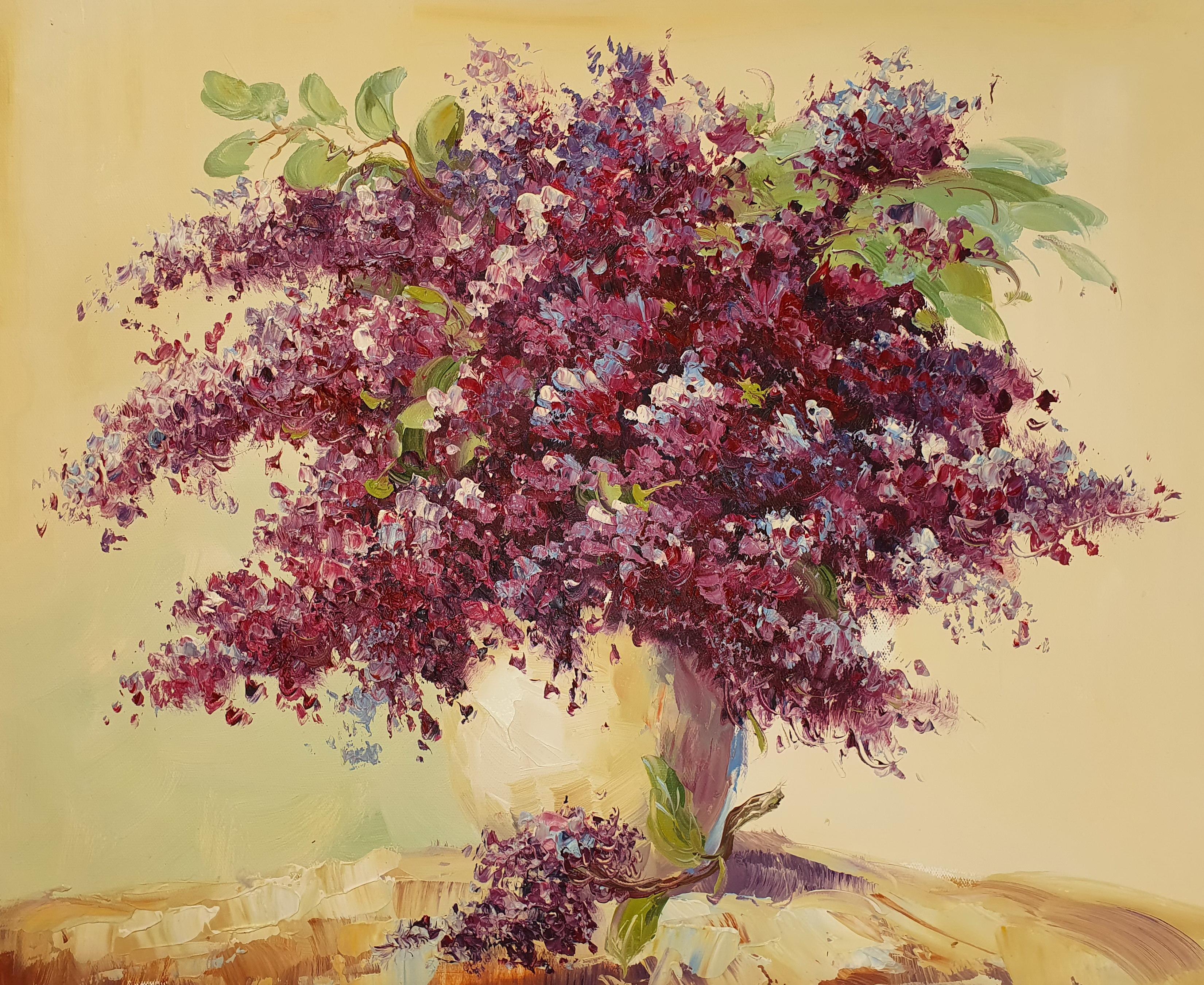 «Сирень» картина 50х60 арт. 5Ц221
