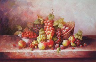 Натюрморт «Дары лета» картина 60х90 арт. 9Ц066
