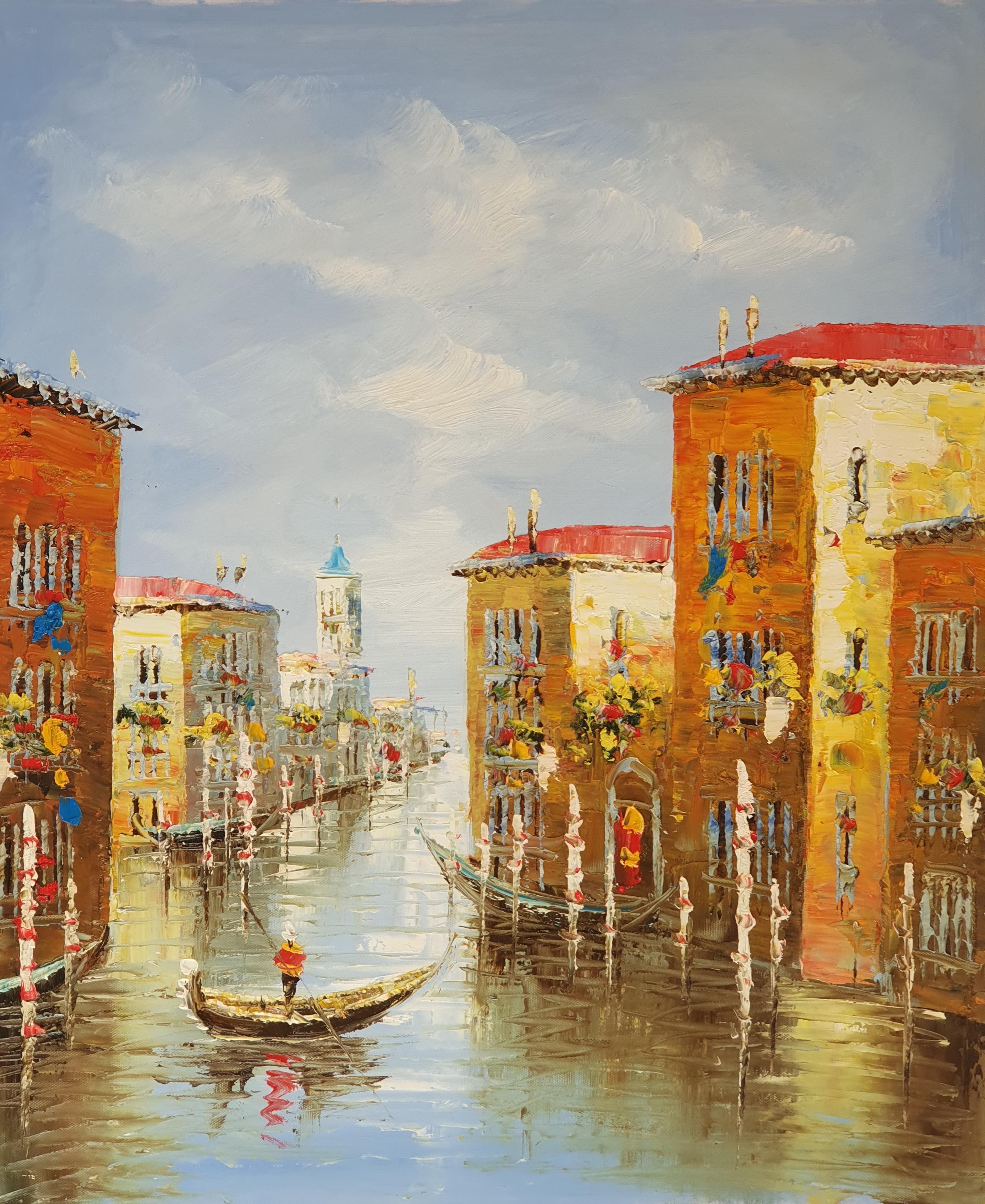 «Венецианский канал» картина 50х60 арт. 5ГР182