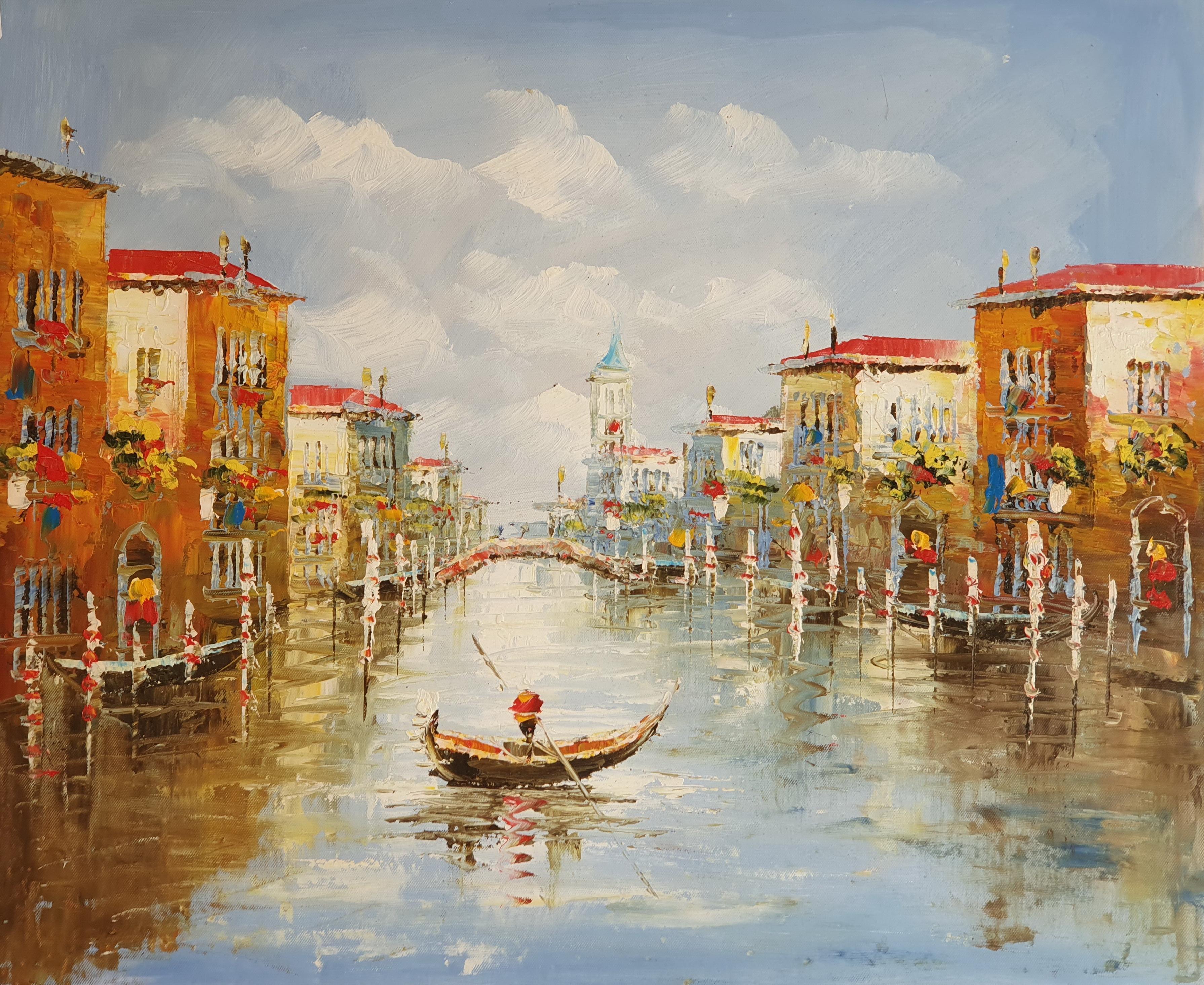 «Венецианский канал» картина 50х60 арт. 5ГР183