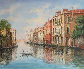 «Прогулка по Венеции» картина 50х60 арт. 5ГР184