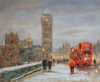 «Лондон»картина 50х60 арт. 5ГР187