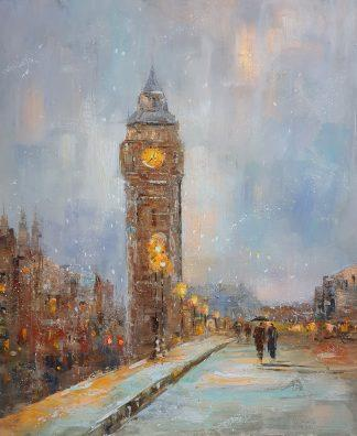 «Лондонская прогулка» картина 50х60 арт. 5ГР191