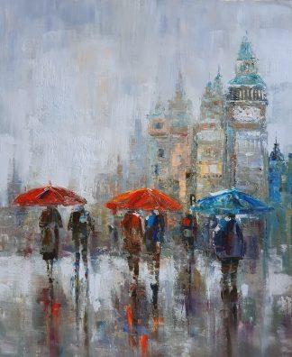 «Лондонский дождик» картина 50х60 арт. 5ГР192