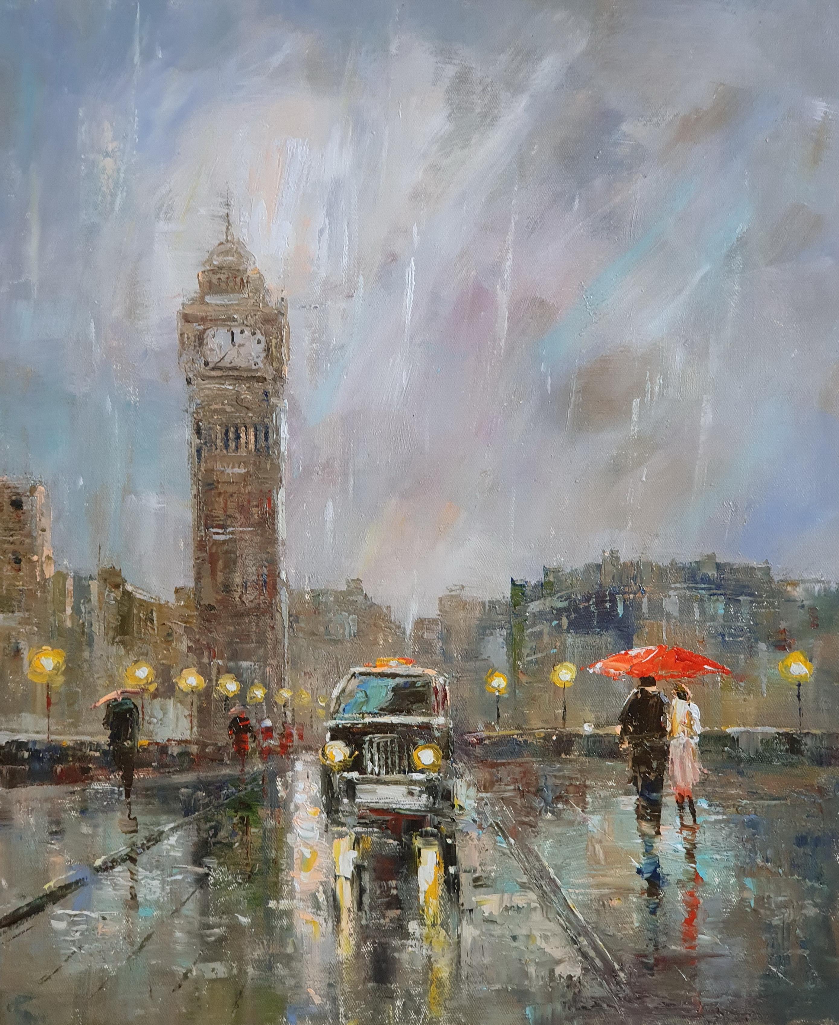 «Прогулки по лондону» картина 50х60 арт. 5ГР193