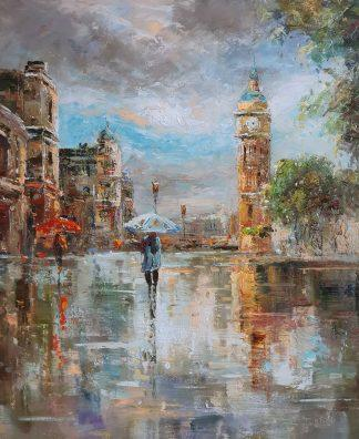 «Дождливый день» картина 50х60 арт. 5ГР194