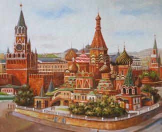 «Красная площадь» картина 50х60 арт. 5ГР197