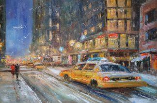 «Мегаполис в движении» картина 60х90 арт. 9ГР082