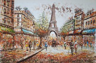 «Париж» картина 60х90 арт. 9ГР083