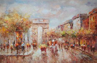 «Триумфальная арка» картина 60х90 арт. 9ГР085