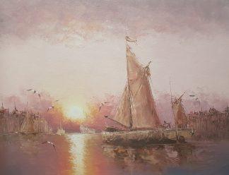 «Яхта» картина 30х40 арт.3Л027